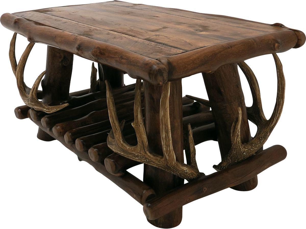 Mountain Woods Furniture® Rustic Lodge Coffee Table