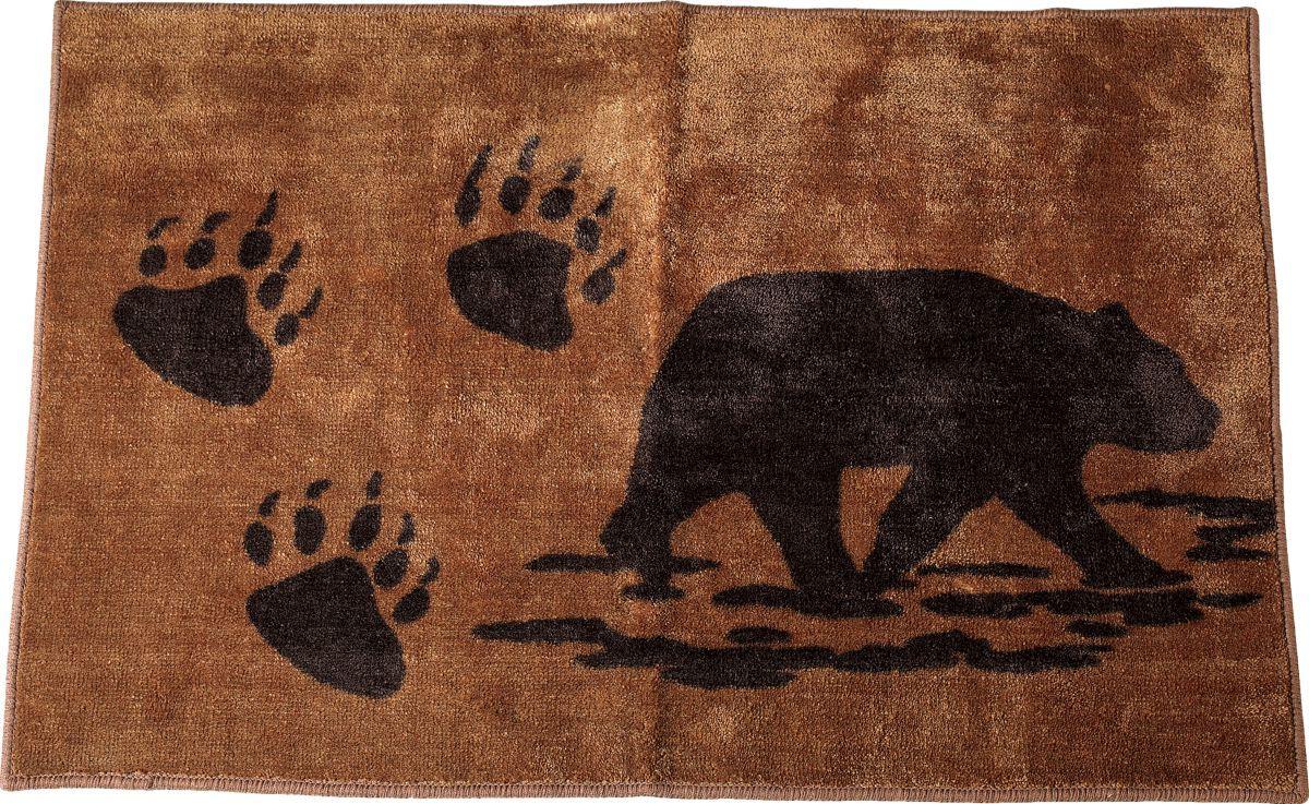 HiEnd Accents Bear Bath Rug