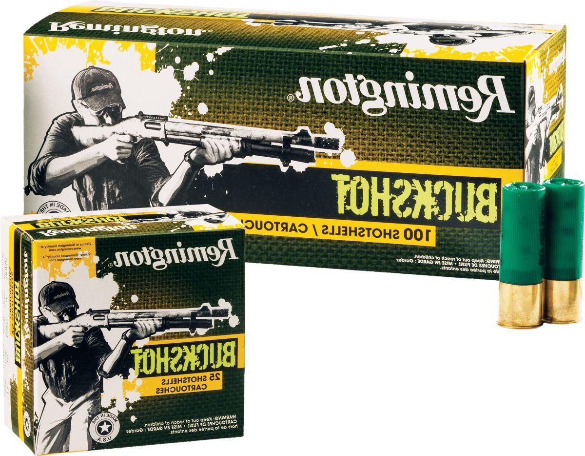 Remington® 100-Round Buckshot