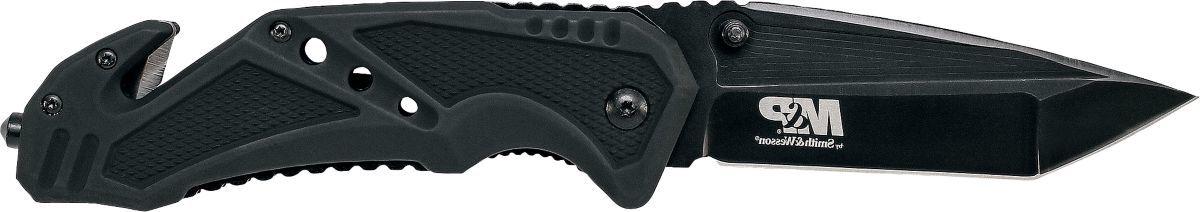 Smith & Wesson® Ceramic Window Punch Folding Knife