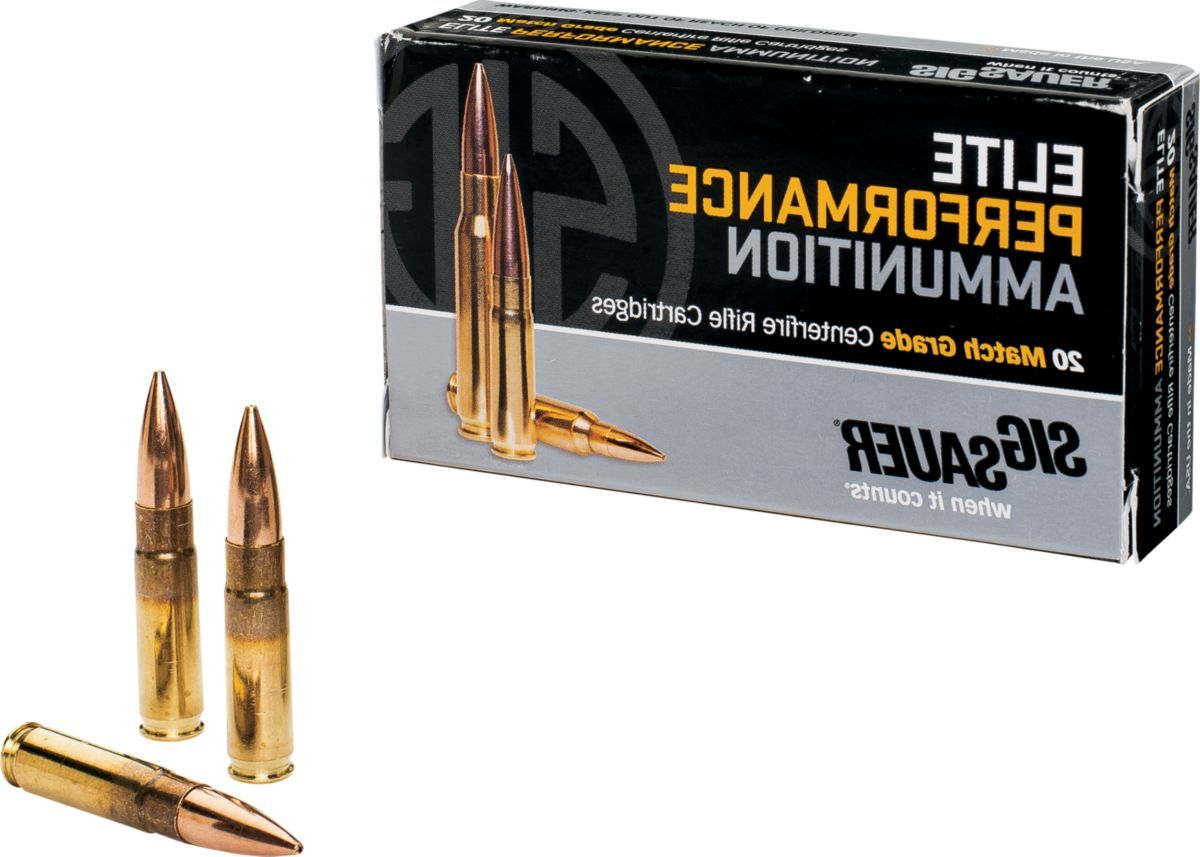 SIG Sauer® Elite Performance Match Rifle Ammunition