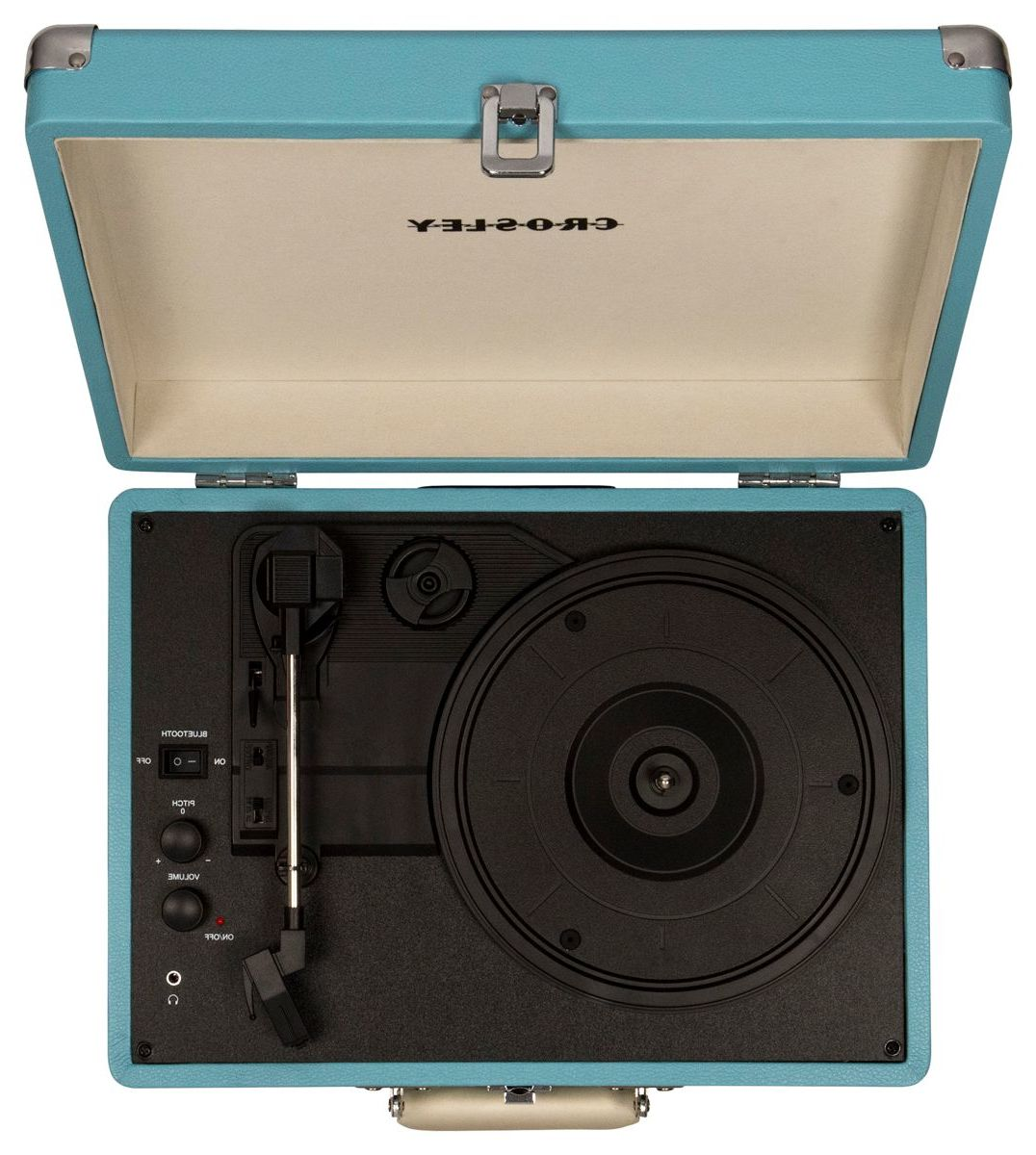 Crosley® Cruiser Deluxe Portable Turntable with Bluetooth®