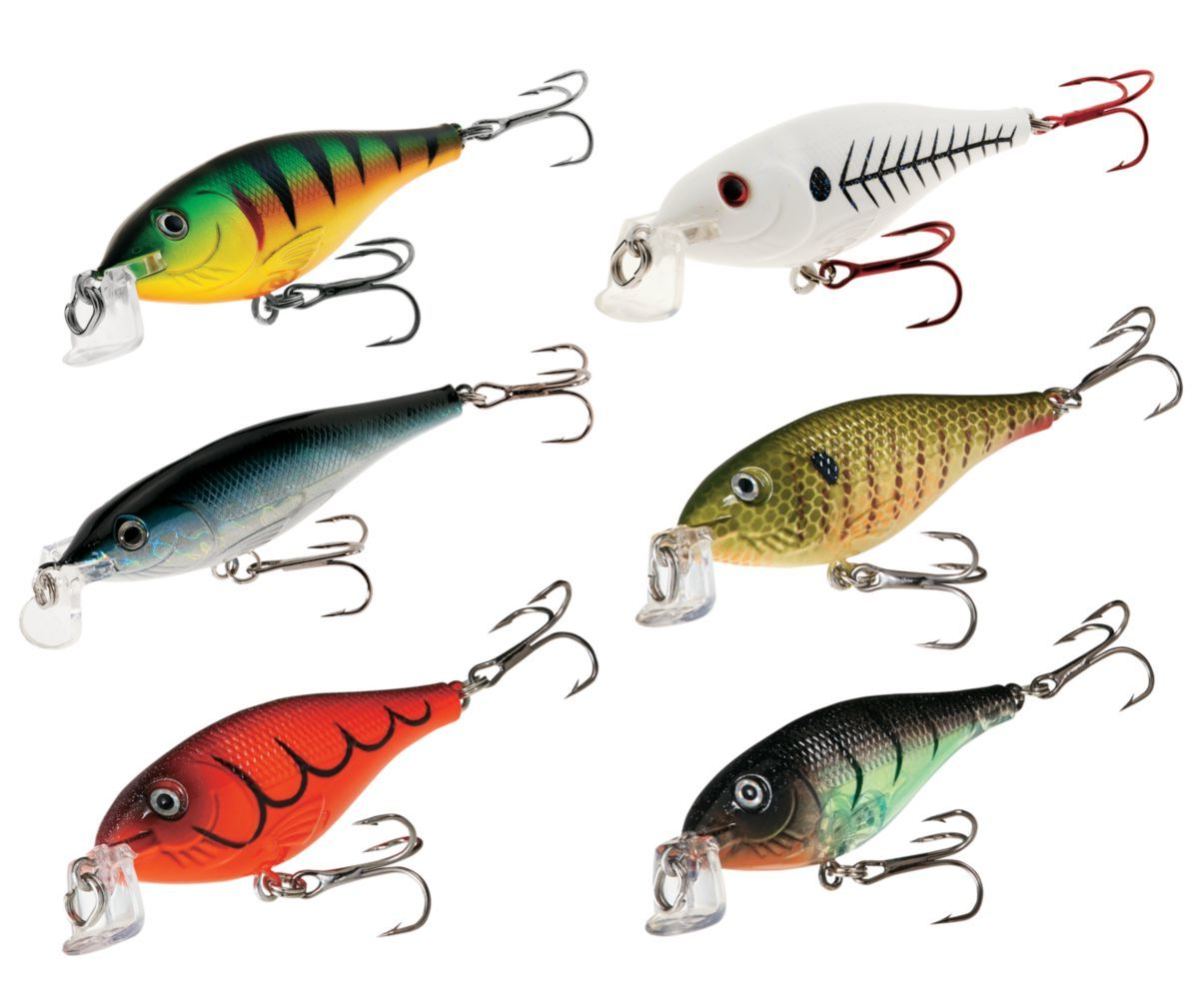 Cabela's Shallow Suspended Shad Six-Piece Kit
