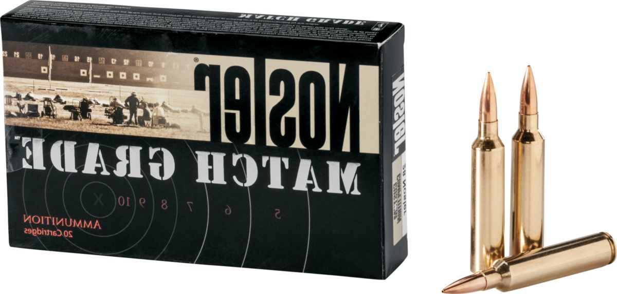 Nosler® Match-Grade Rifle Ammunition