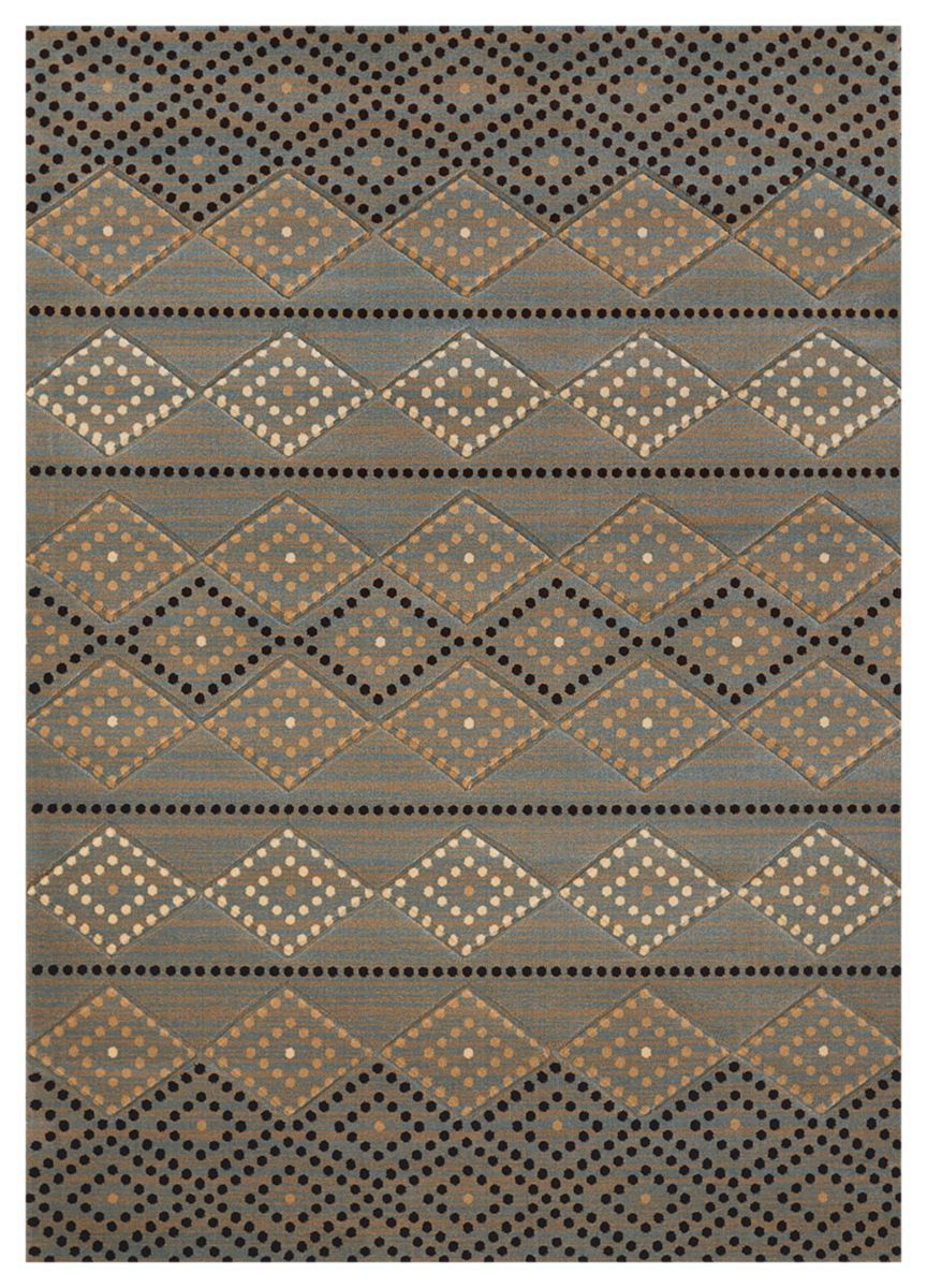 United Weavers® Designer Contours CEM Collection Sedona Diamond Area Rug
