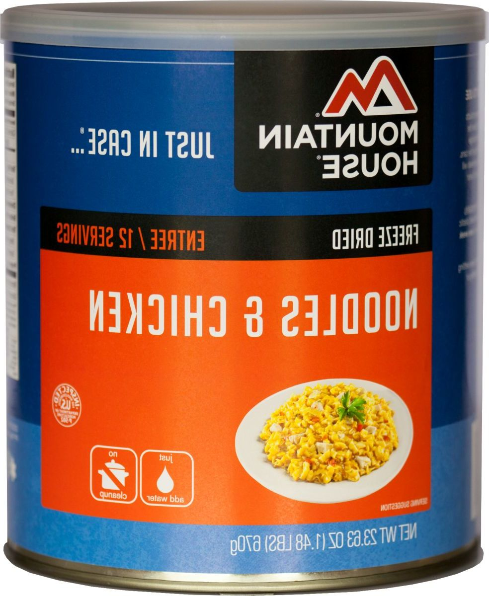 Mountain House® Bulk Freeze-Dried Foods – Noodles & Chicken