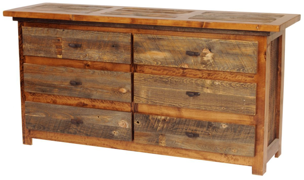 "Mountain Woods Furniture® Wyoming Collection™ Six-Drawer 72"" Dresser"