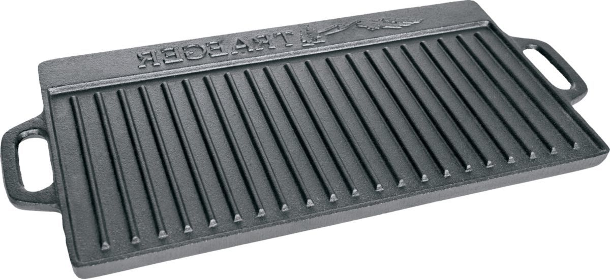 Traeger Reversible Cast-Iron Griddle