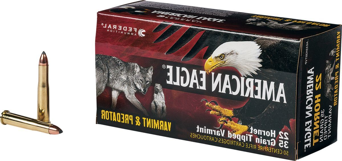 Federal® Varmint & Predator Rifle Ammunition