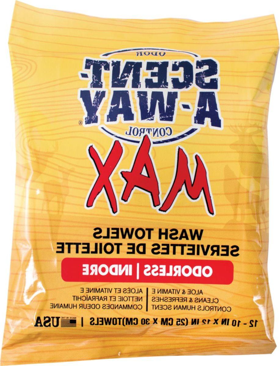 Scent-A-Way® Max Wash Towels