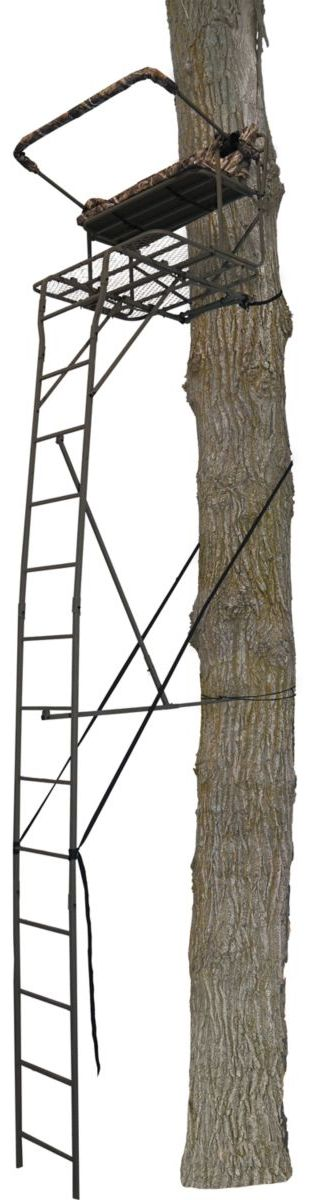 API Outdoors® Ultra-Steel® Two-Person 18-ft. Ladder Stand