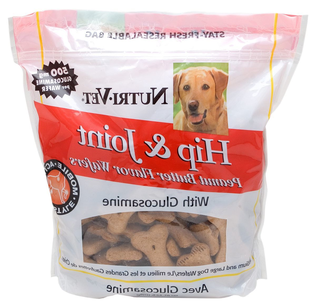 Nutri-Vet® Hip and Joint Mini Wafers for Dogs