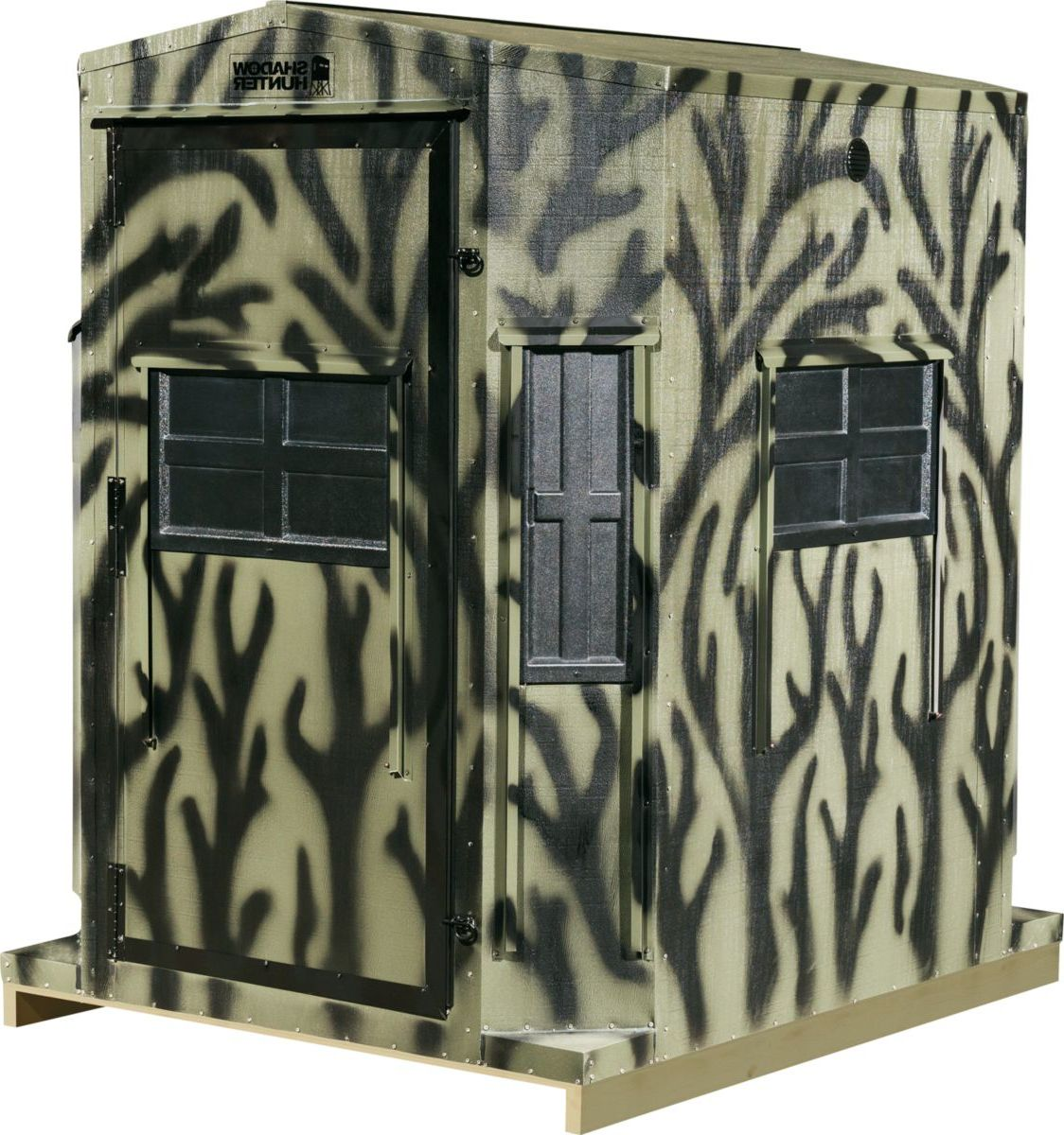 Shadow Hunter Outdoorsman Pre-Assembled 5-ft. x 6-ft. Octagon Combo Blind