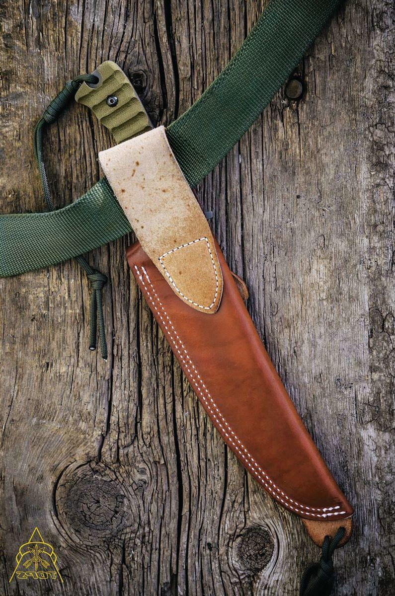 TOPS Knives Wild Pig Hunter Fixed-Blade Knife