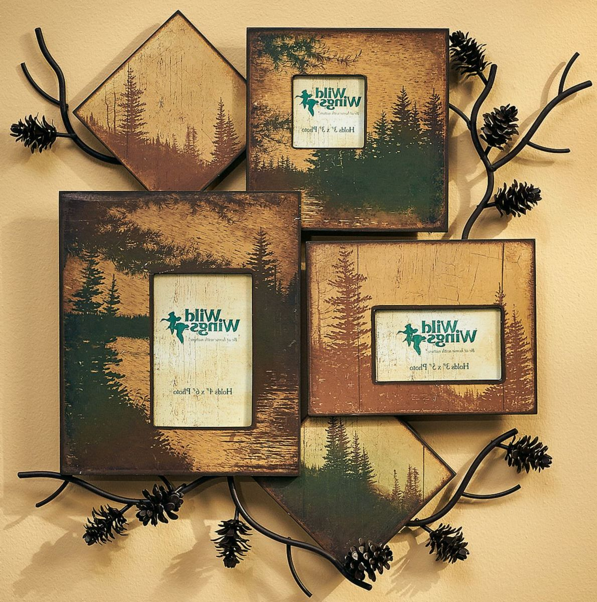 Wild Wings Wall Collage Picture Frame