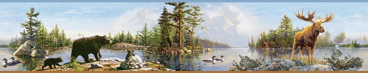 Hautman Blue Moose Lake Border