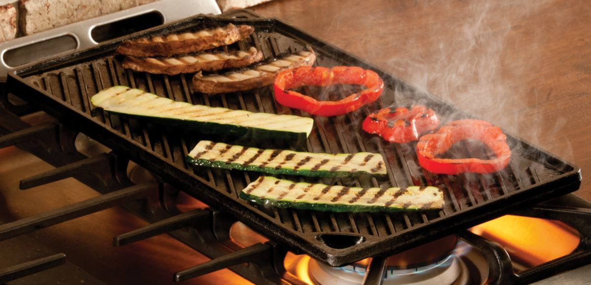 Lodge Iron Reversible Grill/Griddle
