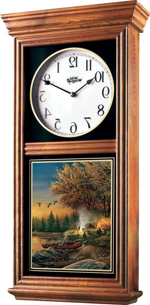 Wild Wings® Regulator Clock – Evening Solitude