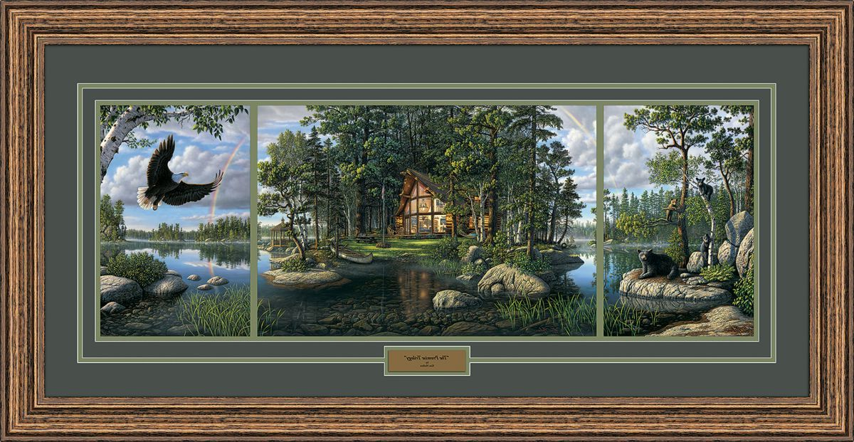 Kim Norlein Reflection Trilogy Prints – The Promise