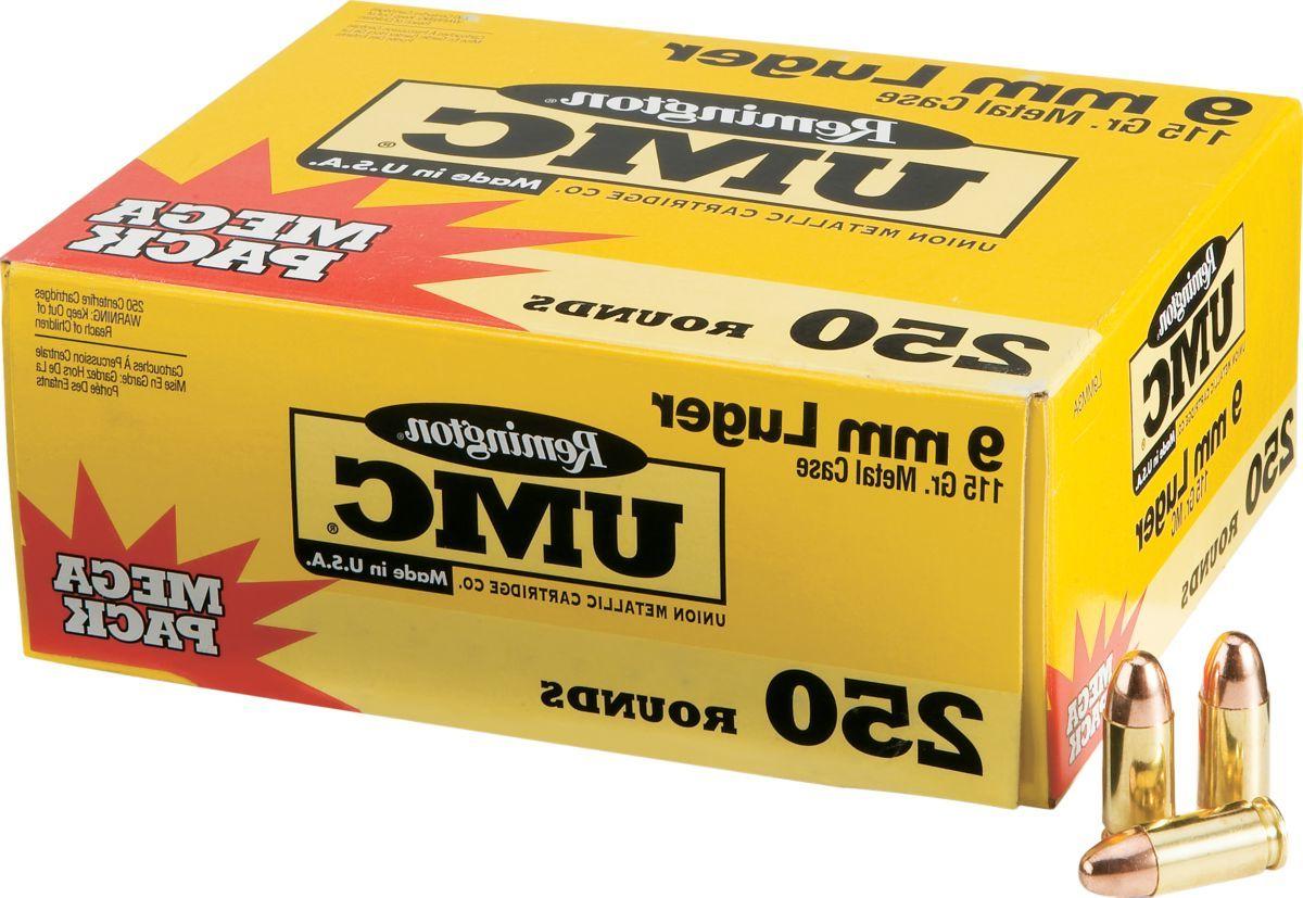 Remington® UMC Mega Pack Pistol Ammunition