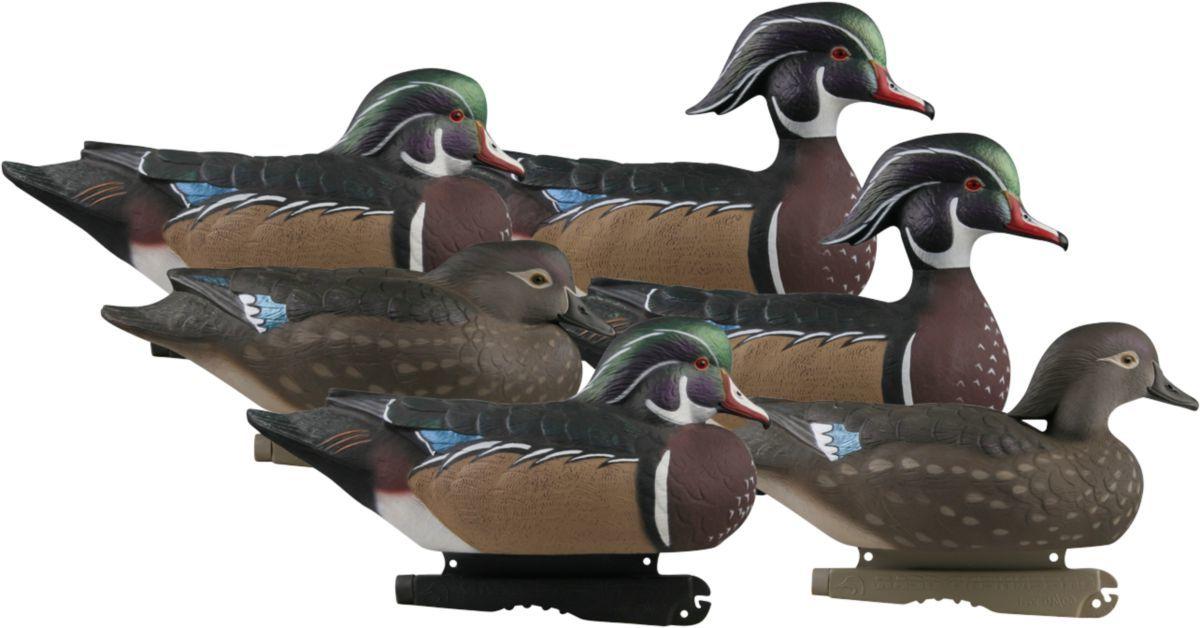 Greenhead Gear® Pro-Grade Wood Duck Decoys – Six-Pack