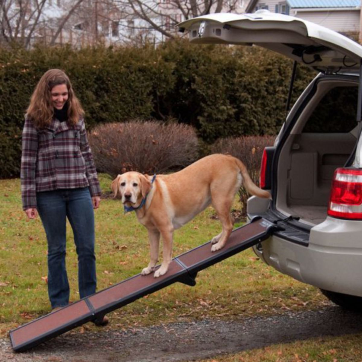 Pet Gear Travel Lite Full Length Tri-Fold Pet Ramp