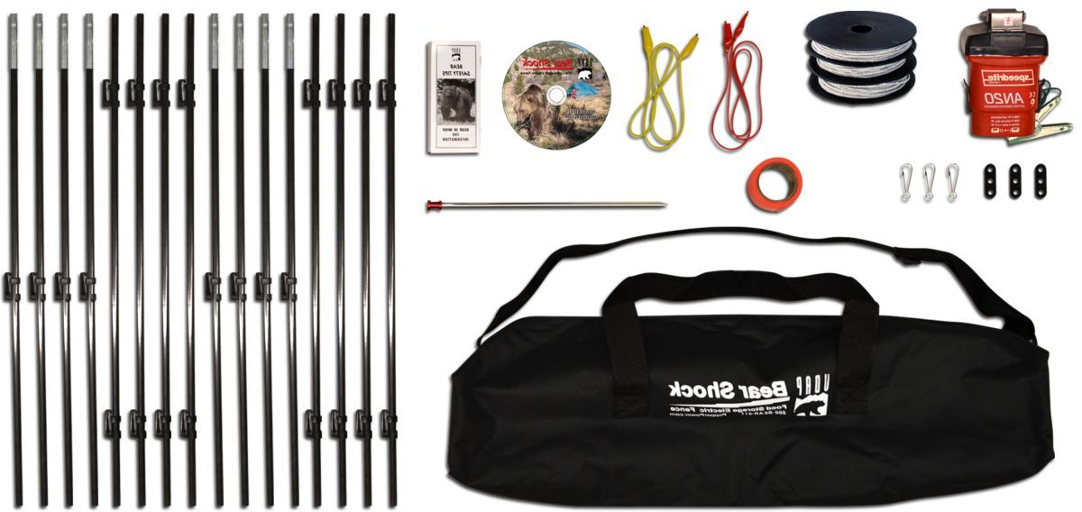 UDAP Bear Shock® Outfitter Camp Perimeter Fence