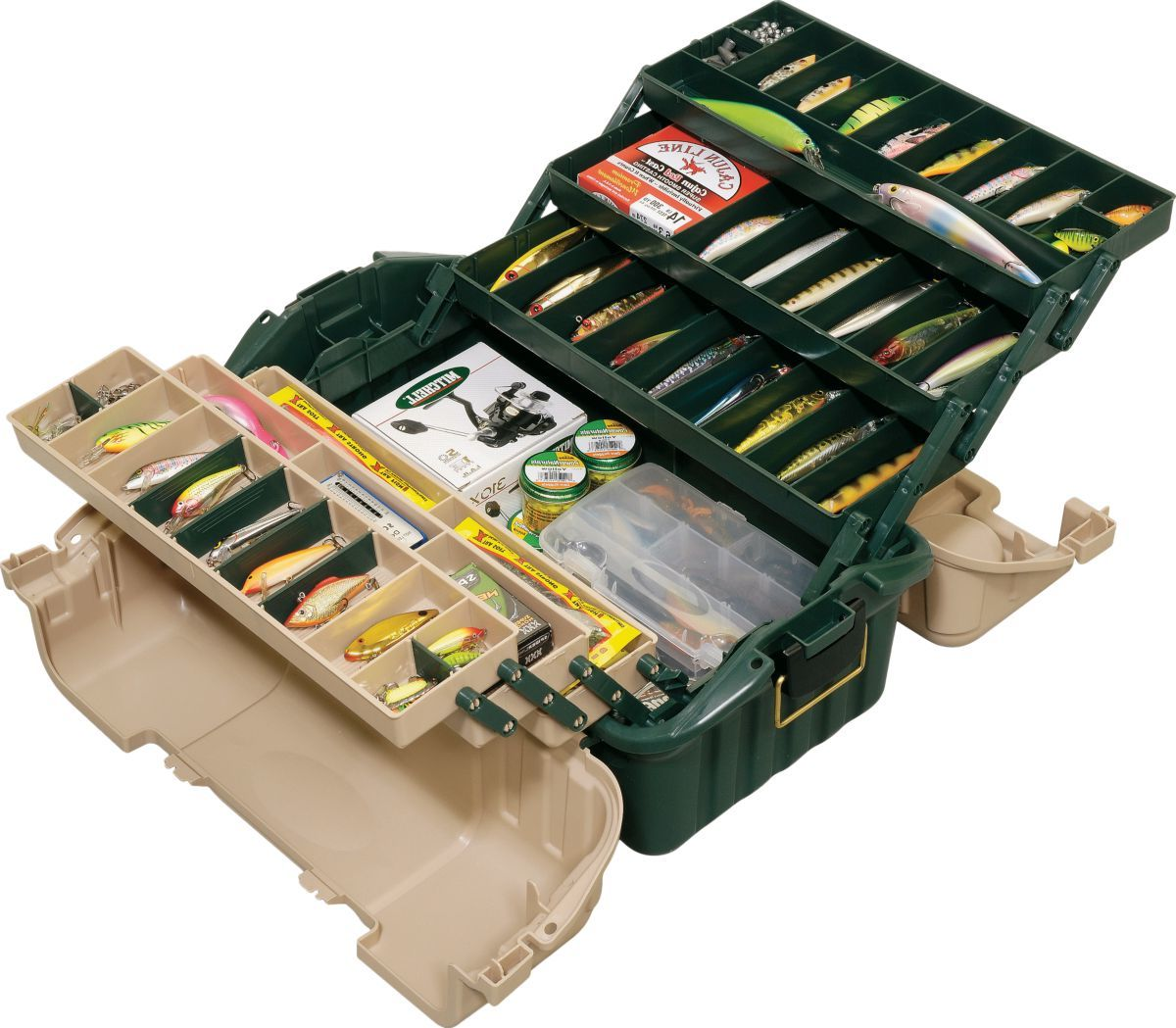 Plano® Hip Roof 8616 Tackle Box