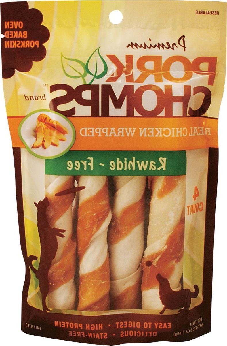 Scott Pet Products Premium Chicken-Wrapped Pork Chomps