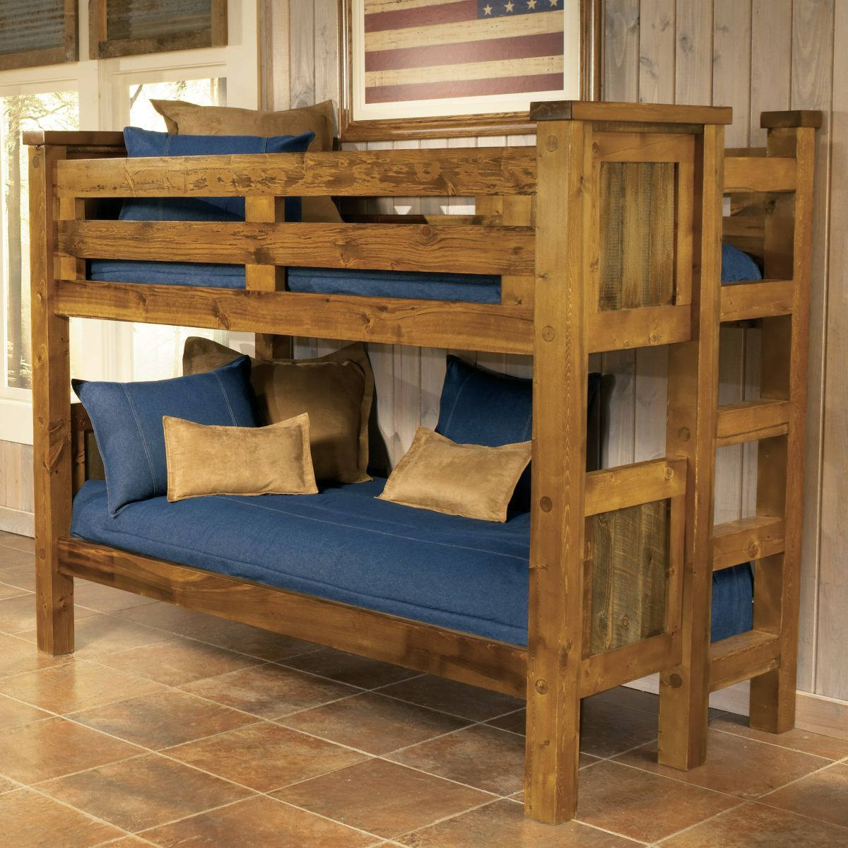 Mountain Woods Furniture® Wyoming Collection™ Bunk Beds