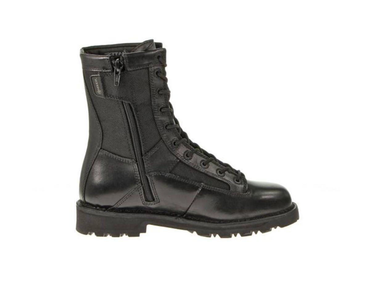 "Bates Men's 8"" Durashocks Side-Zip Duty Boots"