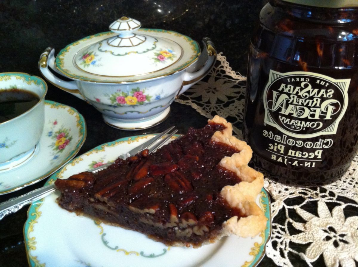 Great San Saba River Pecan Company Pecan Pie in a Jar