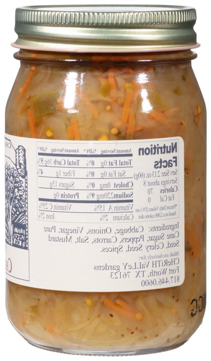Cherith Valley Gardens Hot 'n Spicy Chow Chow Relish
