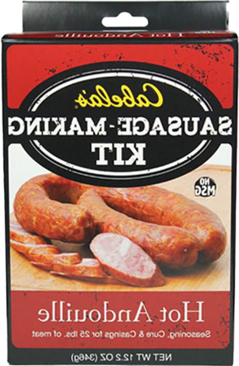 Cabela's Smokehouse Sausage Kits – 25 lbs.