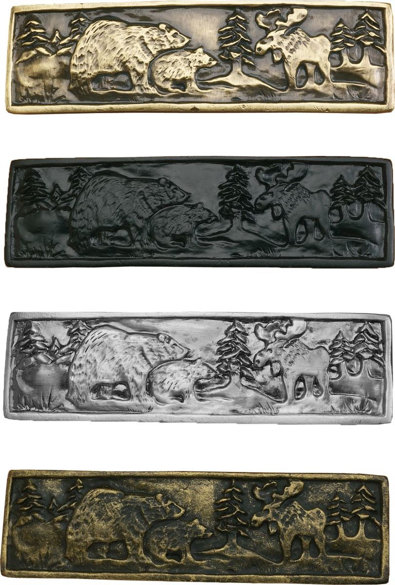 Outdoorsman Double-Post Drawer Pulls
