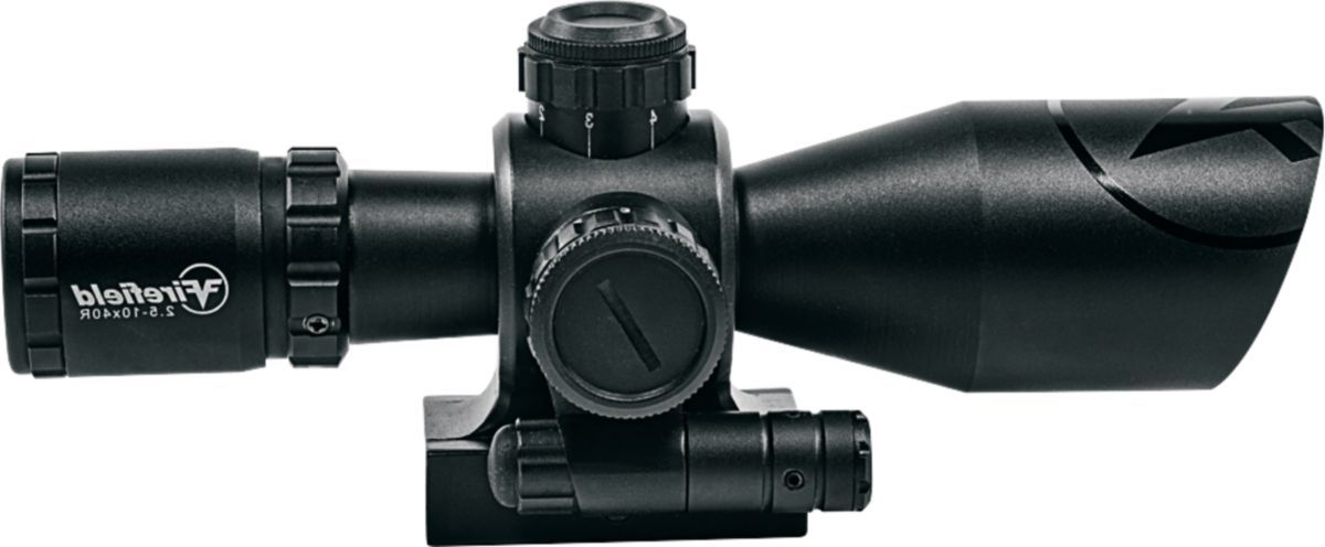 Firefield Barrage Riflescope with Red Laser