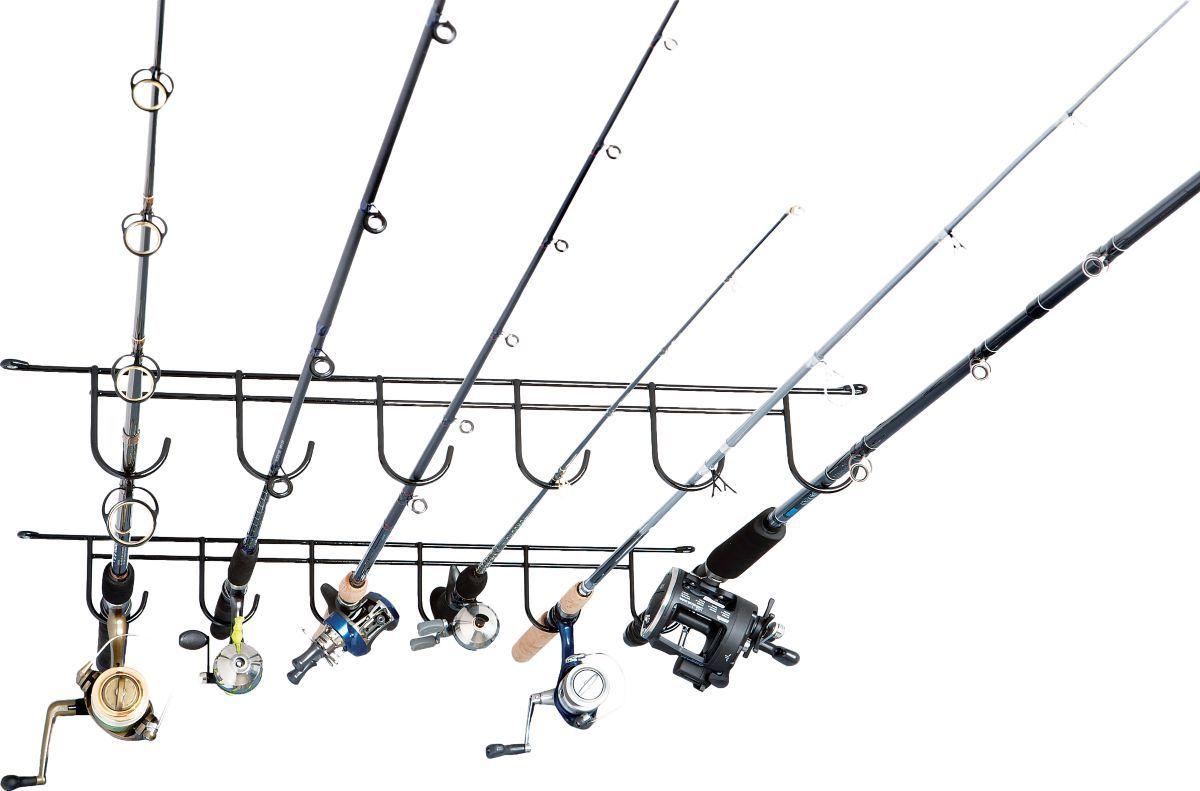 Rack'Em Six-Rod Ceiling Rack