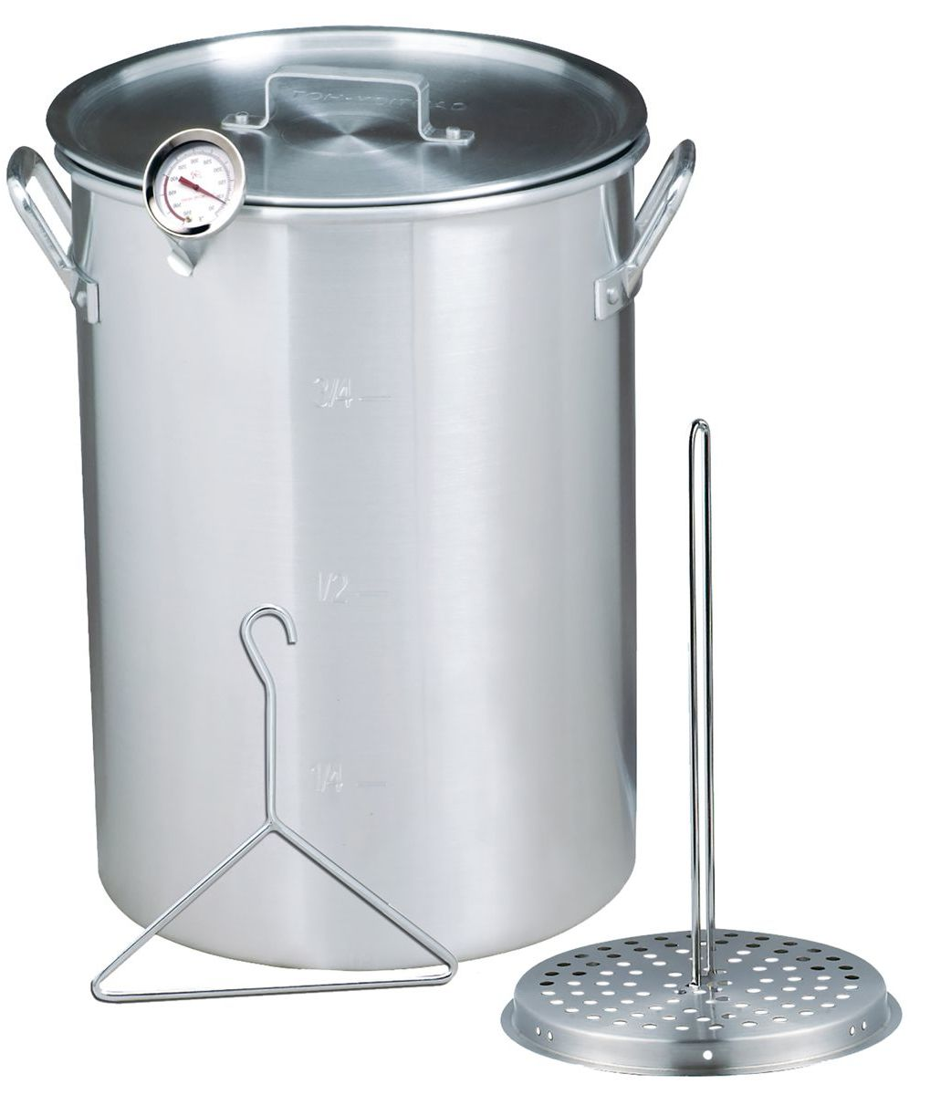 Bass Pro Shops Aluminum Pot With Turkey Rack