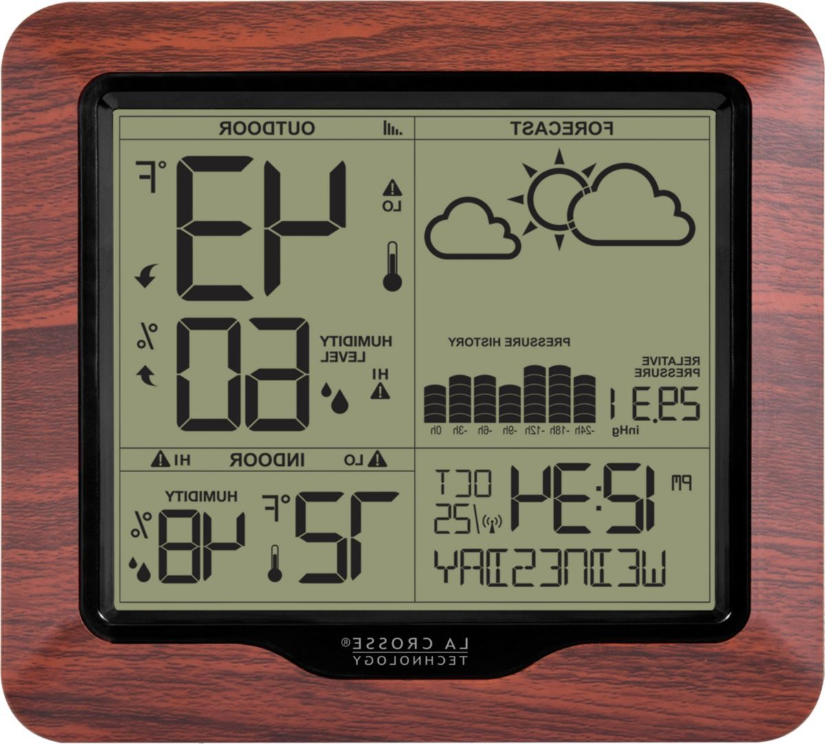 La Crosse Technology® 308-1417BL Backlight Wireless Forecast Station