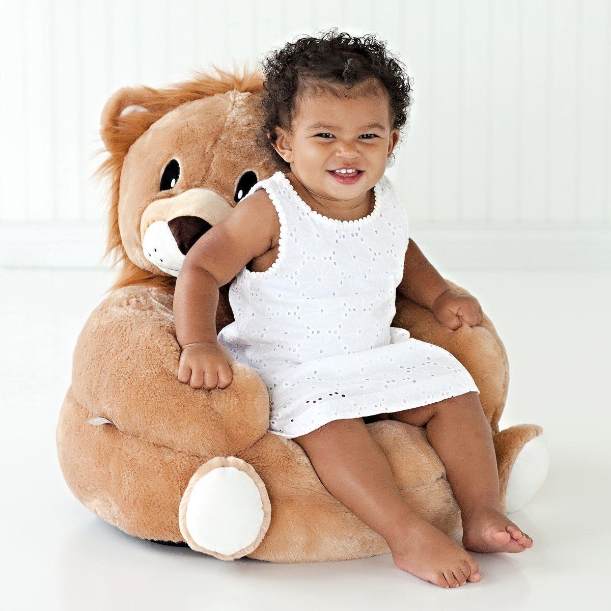 Children's Plush Character Chair