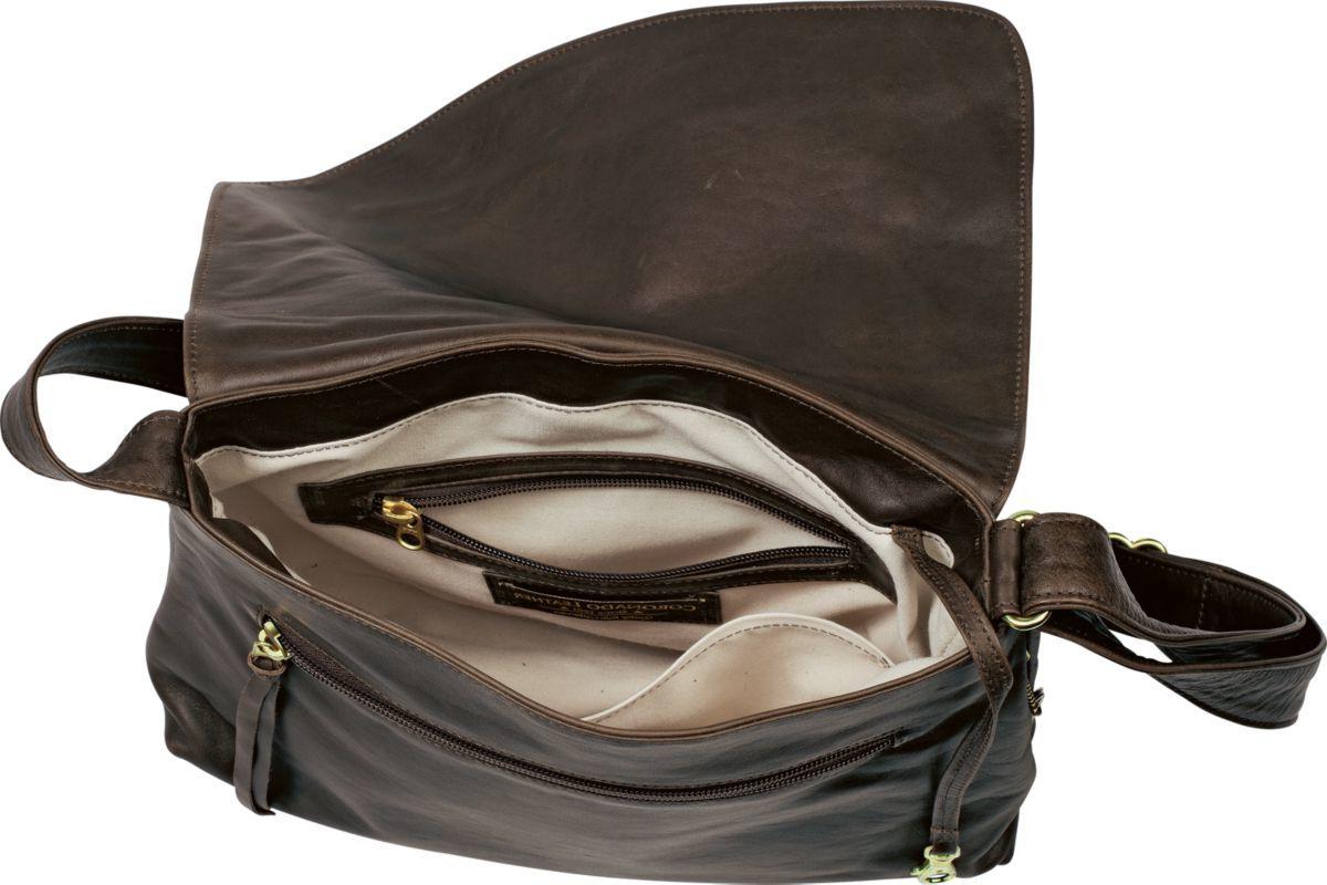 Coronado Monterey Flap Concealed-Carry Handbag