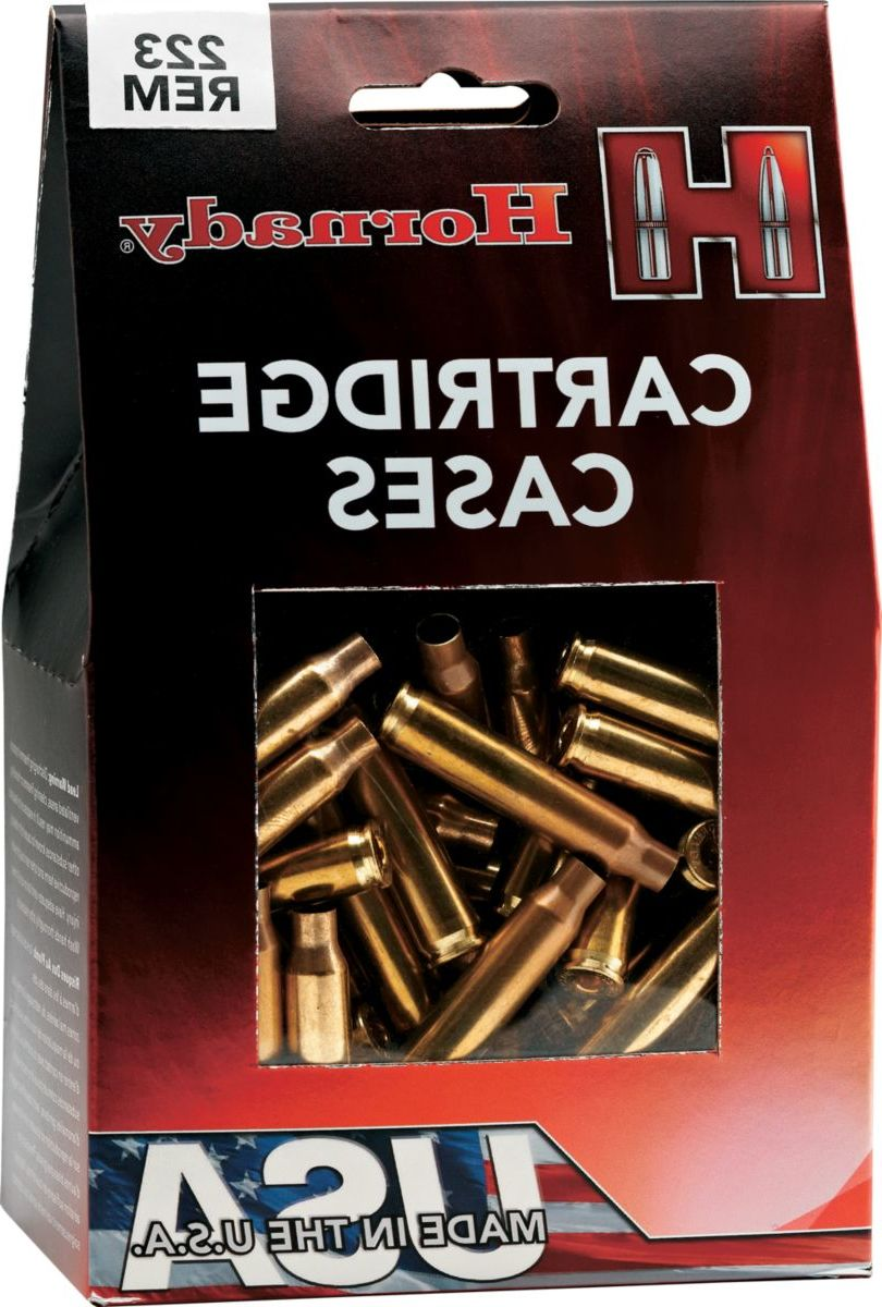 Hornady® Unprimed Rifle Brass