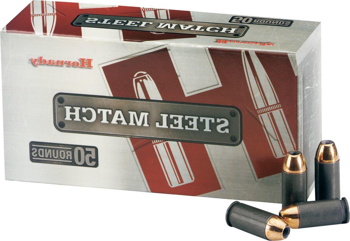 Hornady® Steel Match Handgun Ammunition