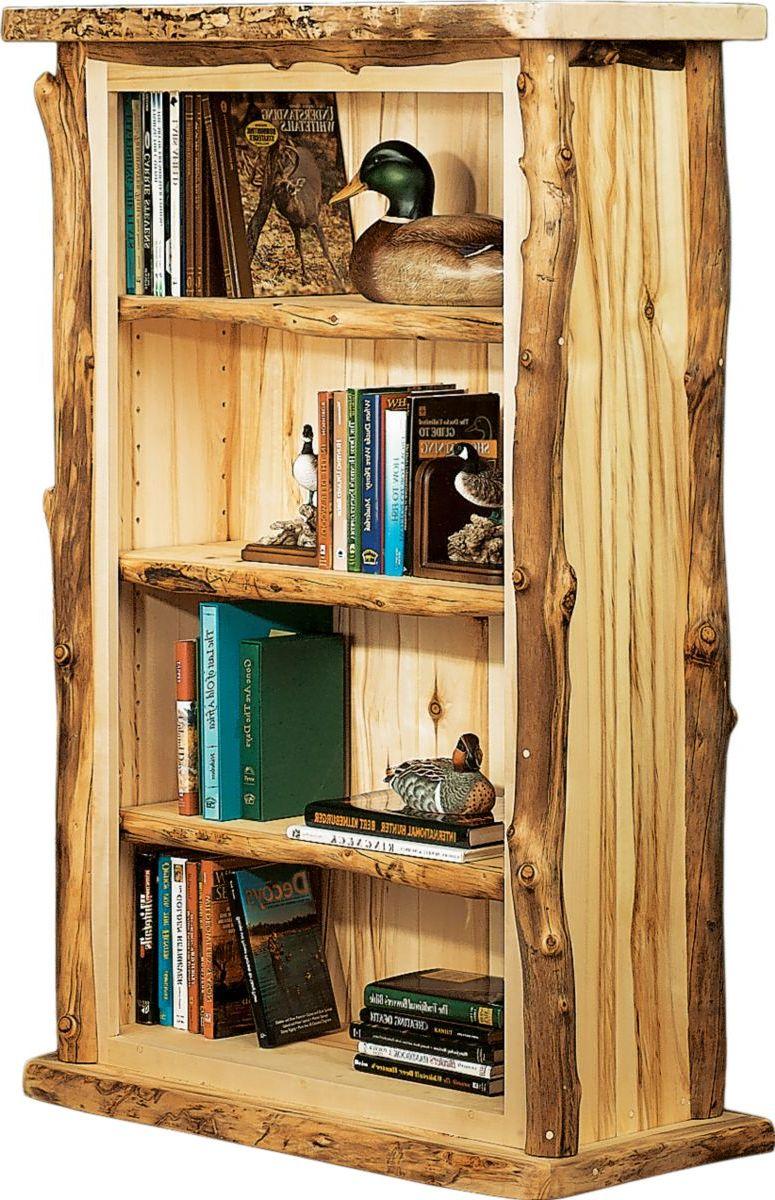 Mountain Woods Furniture® Aspen 3-Shelf Bookcase