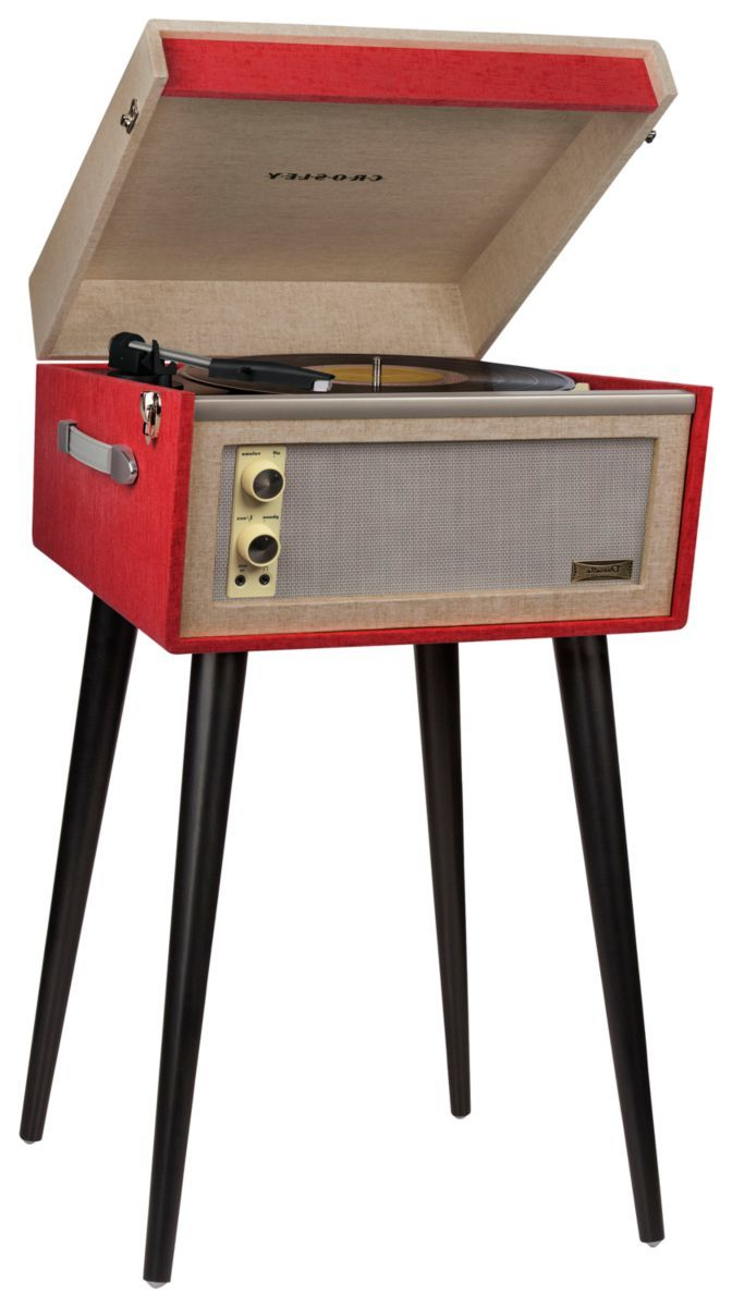 Crosley® Dansette Bermuda Turntable with Bluetooth® and Pitch Control