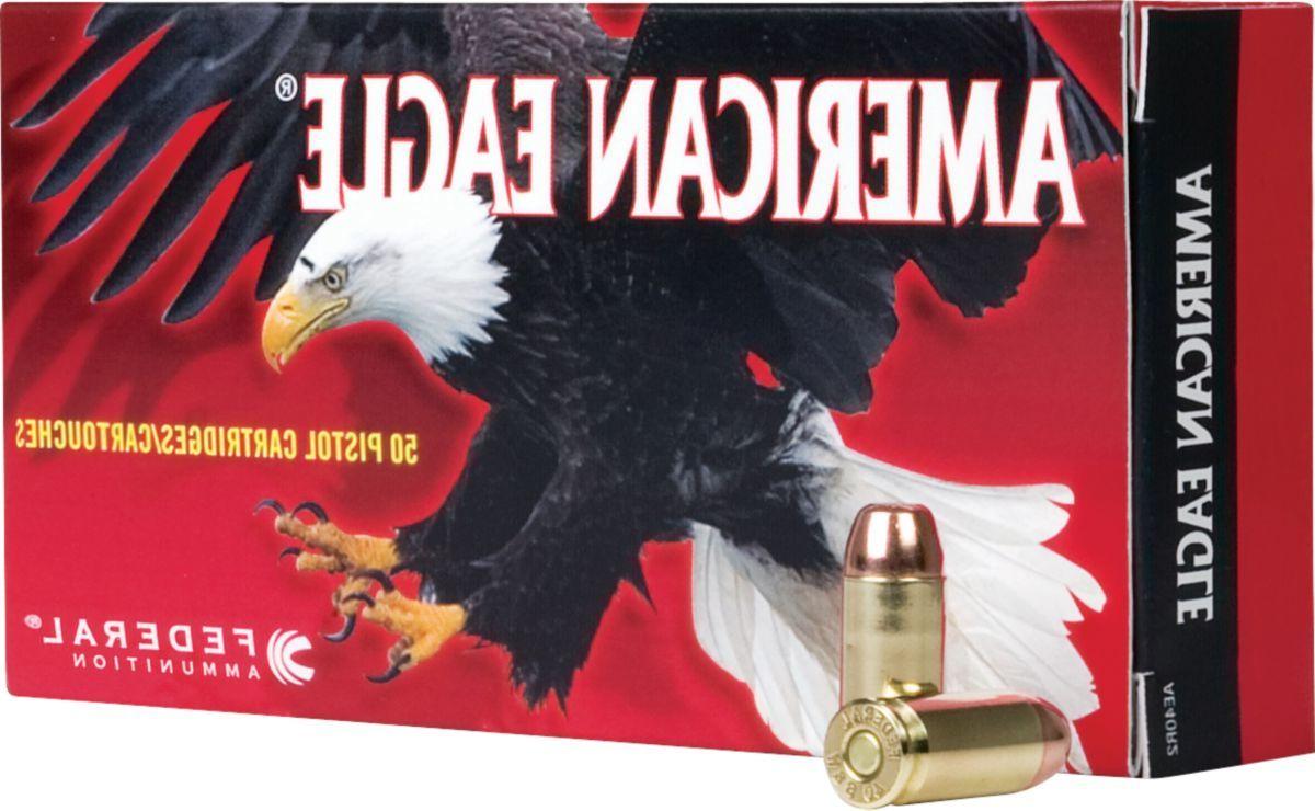 Federal® American Eagle® Pistol Ammo - Per 50