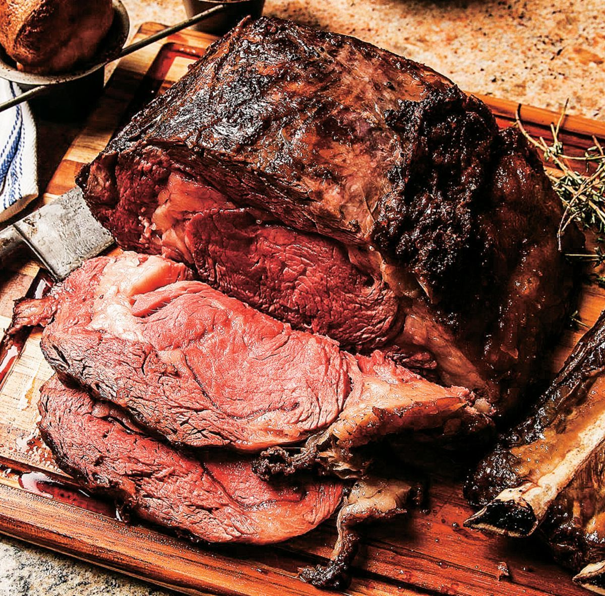 Cabela's Elk Prime-Rib Roast
