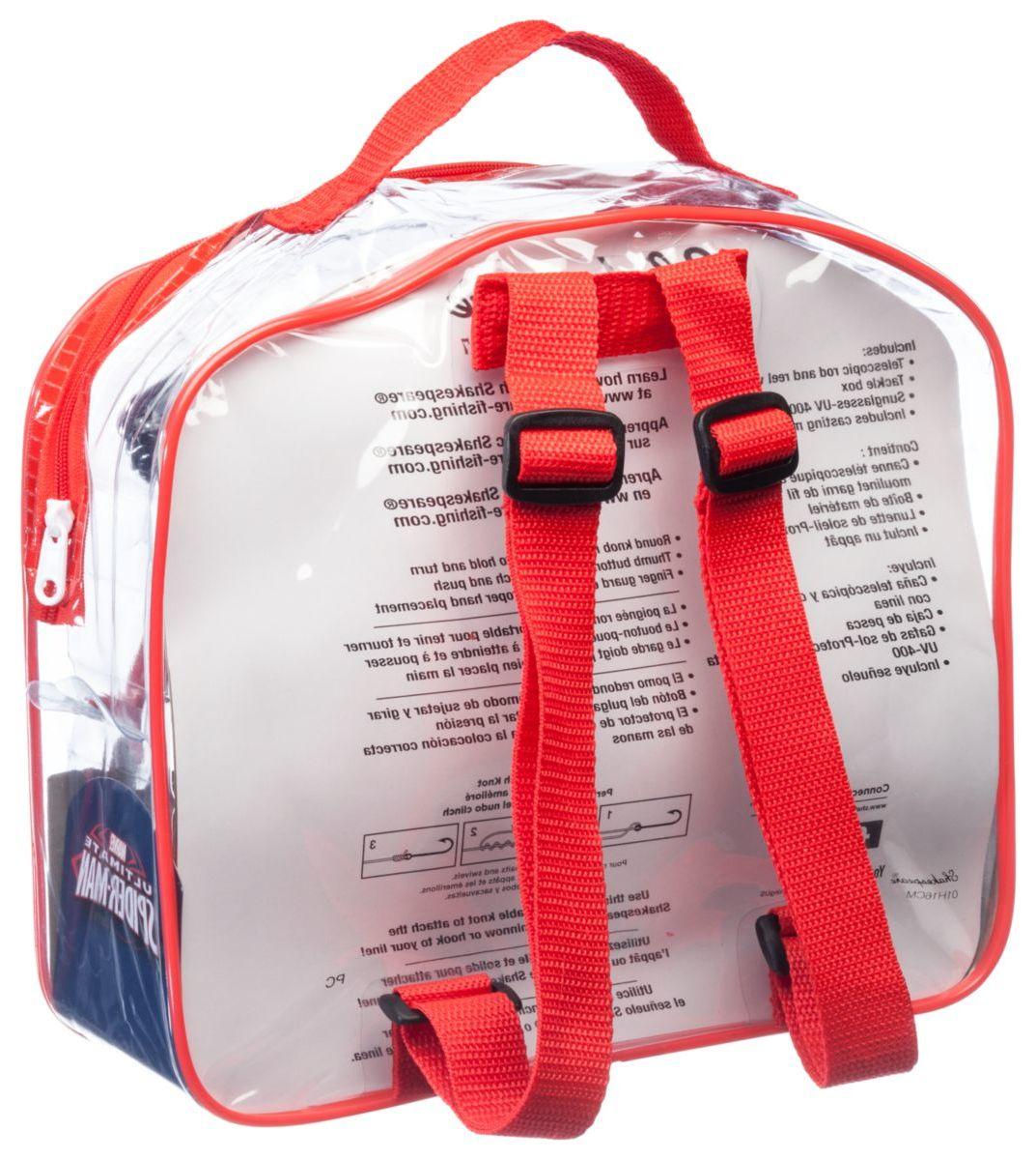 Shakespeare® Kids' Spiderman® Rod and Reel Backpack Fishing Kit