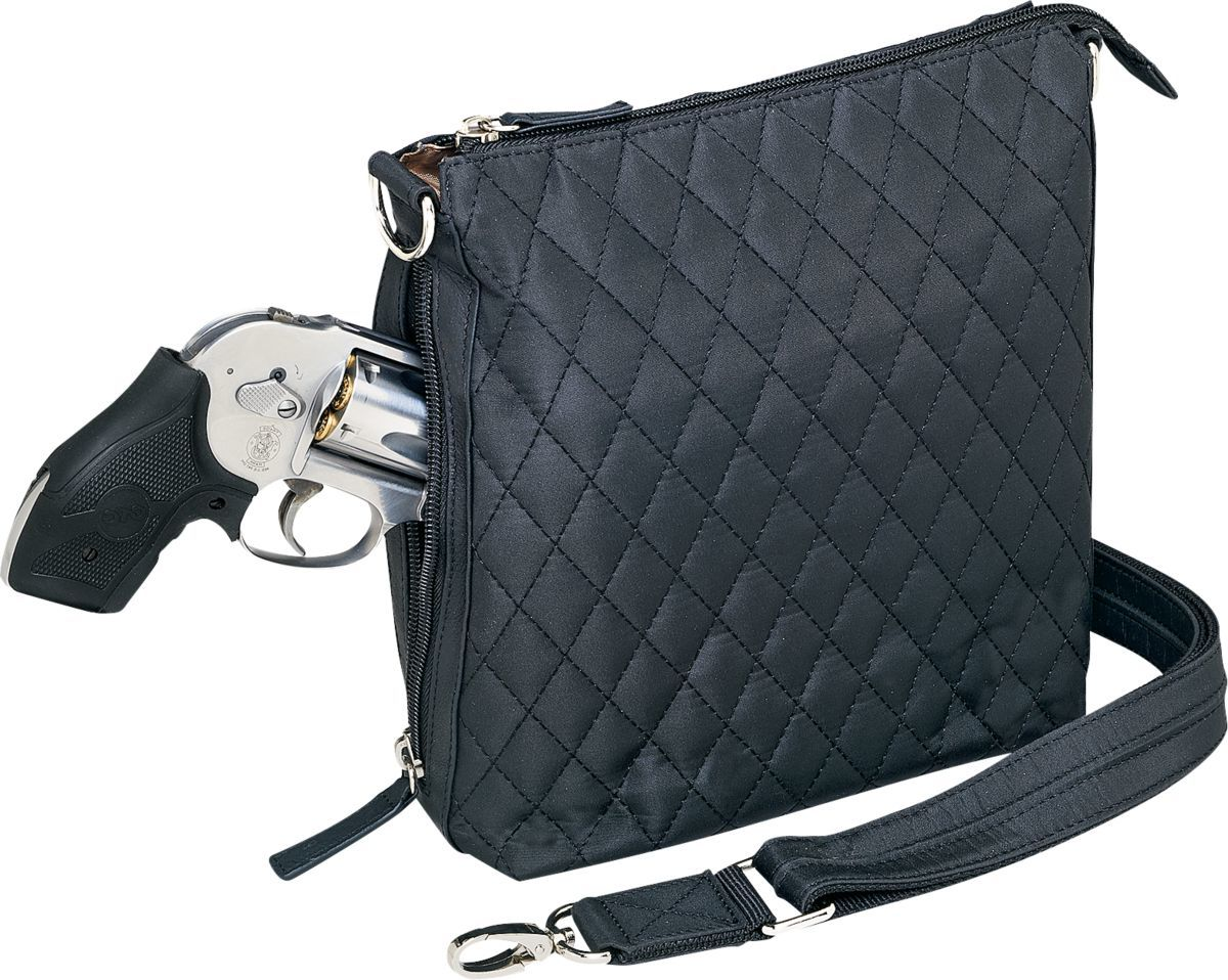 Gun Tote'n Mamas™ Quilted Microfiber Concealed-Carry Sac