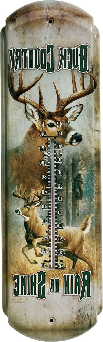 Vintage Tin Outdoor Thermometer